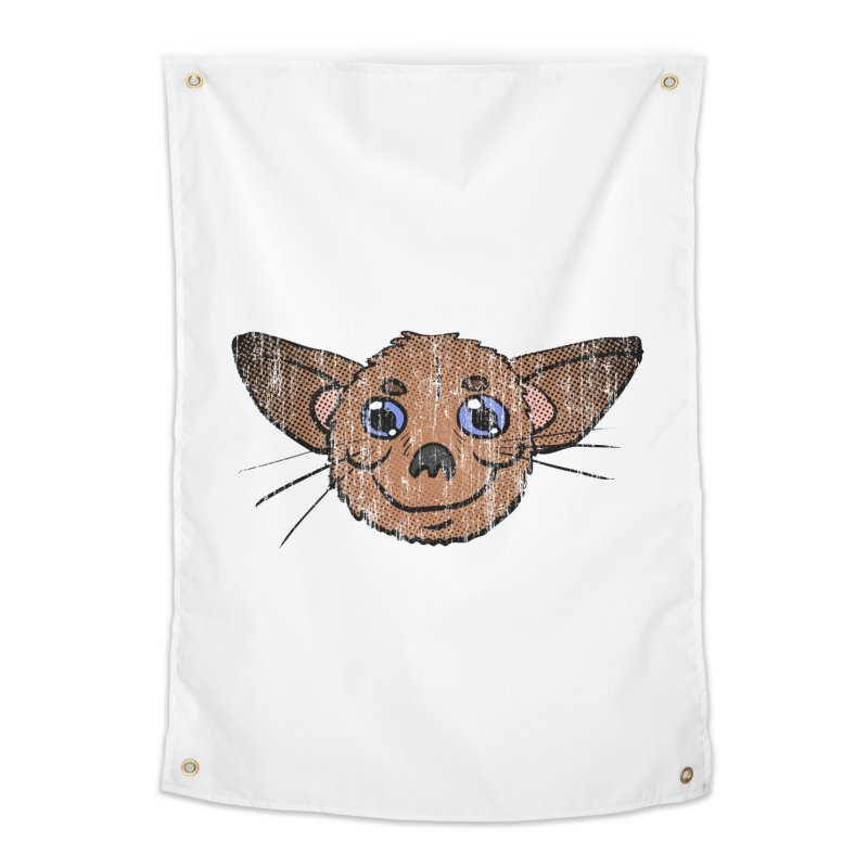Chihuahua Head (vintage) Home Tapestry by ericallen's Artist Shop