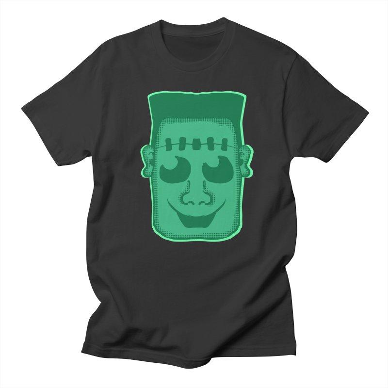 Frankie head in Men's Regular T-Shirt Smoke by ericallen's Artist Shop