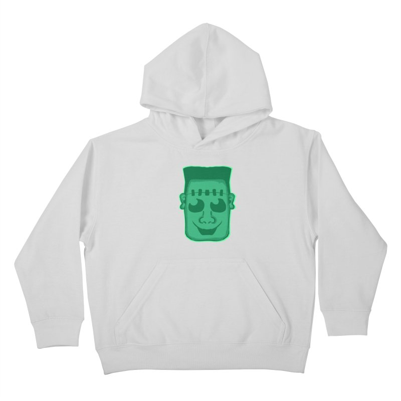 Frankie head Kids Pullover Hoody by ericallen's Artist Shop