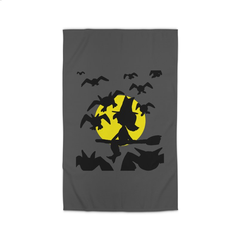 Witch and Bats Home Rug by ericallen's Artist Shop