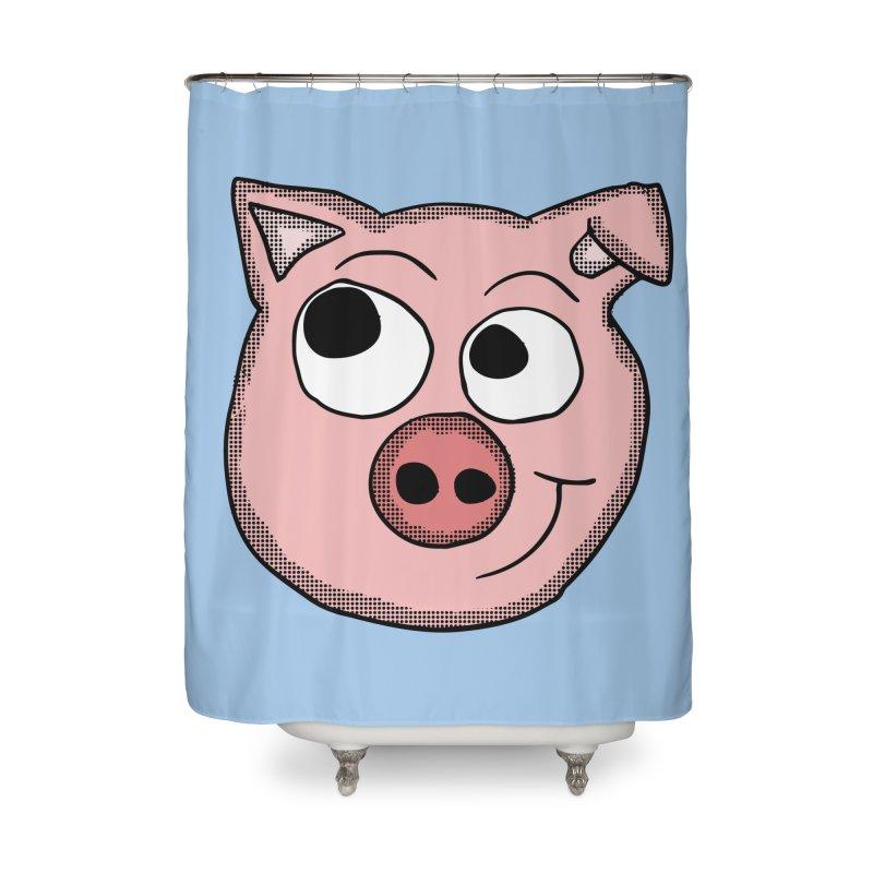 Peter Pig Home Shower Curtain by ericallen's Artist Shop