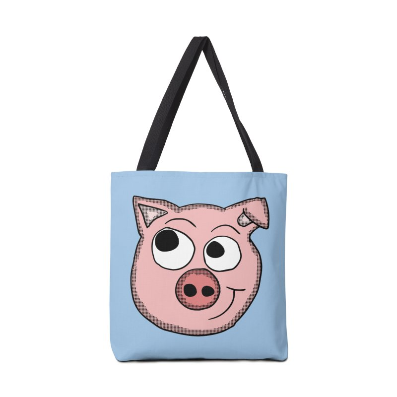 Peter Pig Accessories Bag by ericallen's Artist Shop