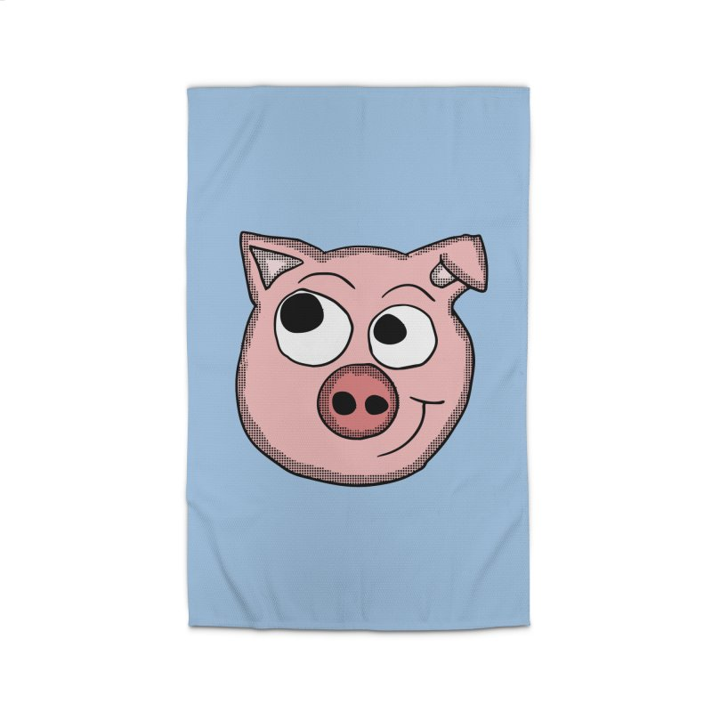 Peter Pig Home Rug by ericallen's Artist Shop