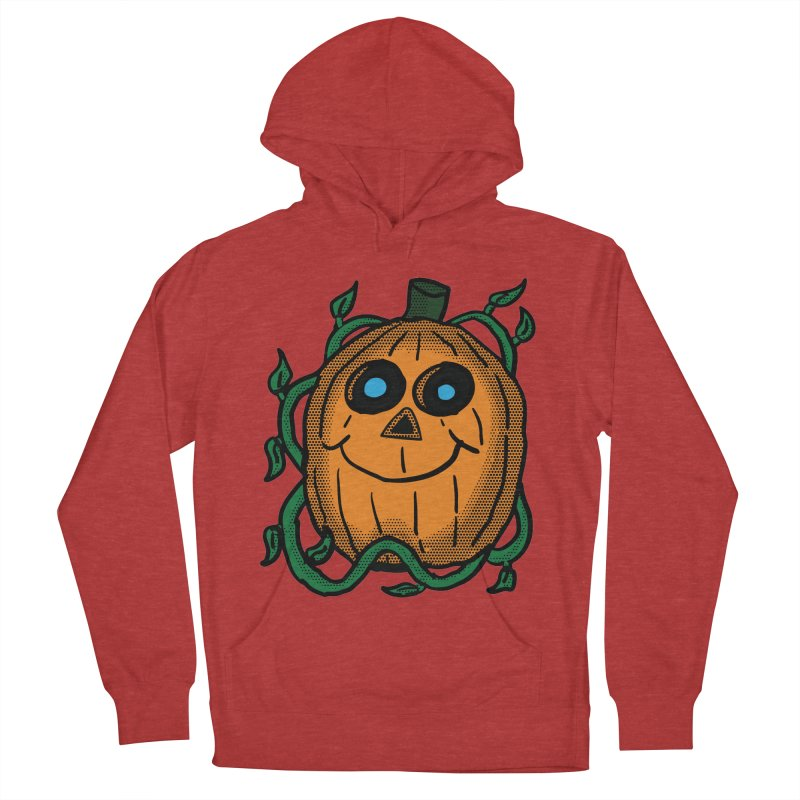 Fall Pumpkin Men's French Terry Pullover Hoody by ericallen's Artist Shop