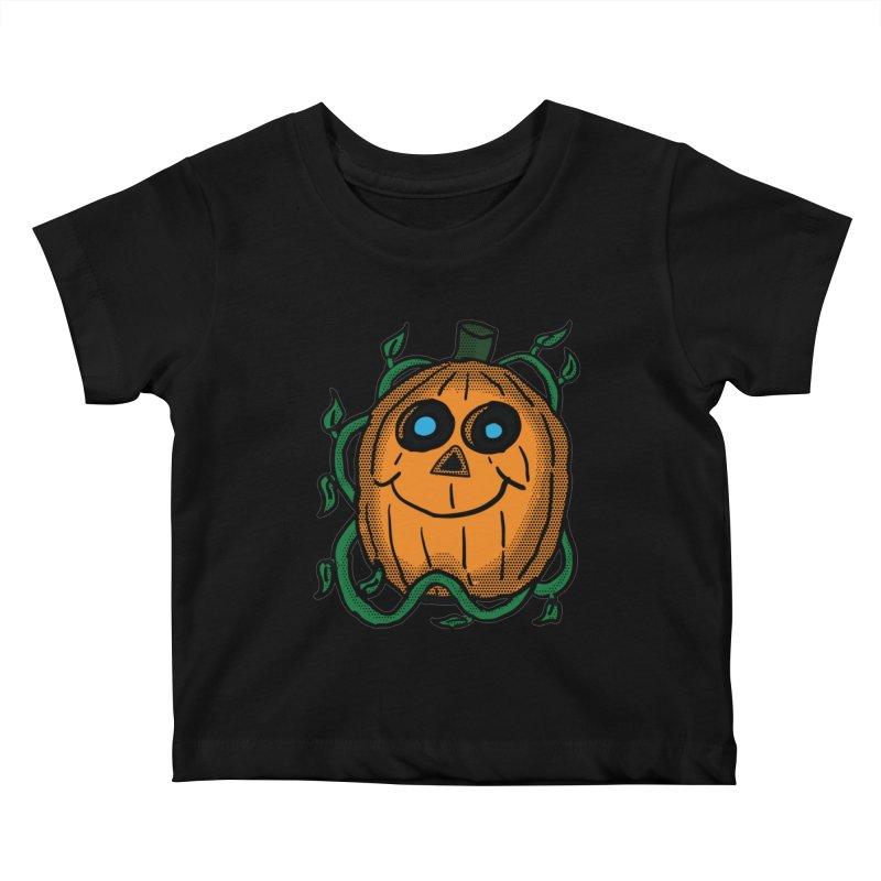 Fall Pumpkin Kids Baby T-Shirt by ericallen's Artist Shop