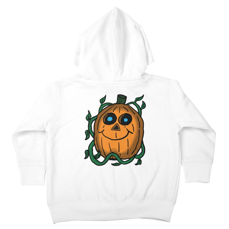 Fall Pumpkin Kids Toddler Zip-Up Hoody by ericallen's Artist Shop