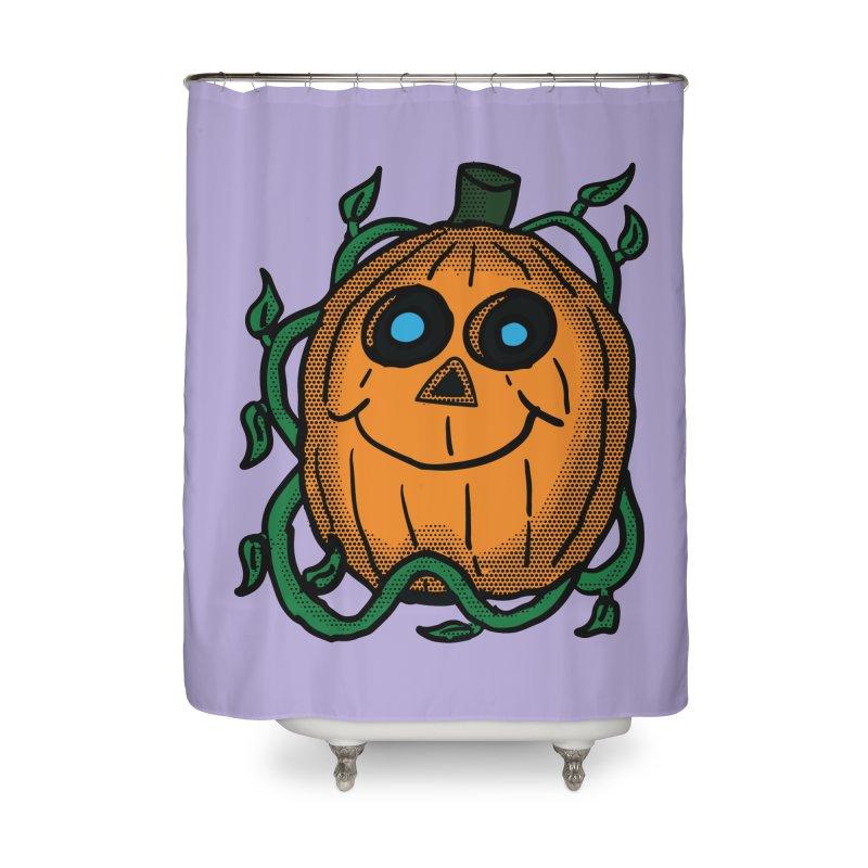Fall Pumpkin Home Shower Curtain by ericallen's Artist Shop