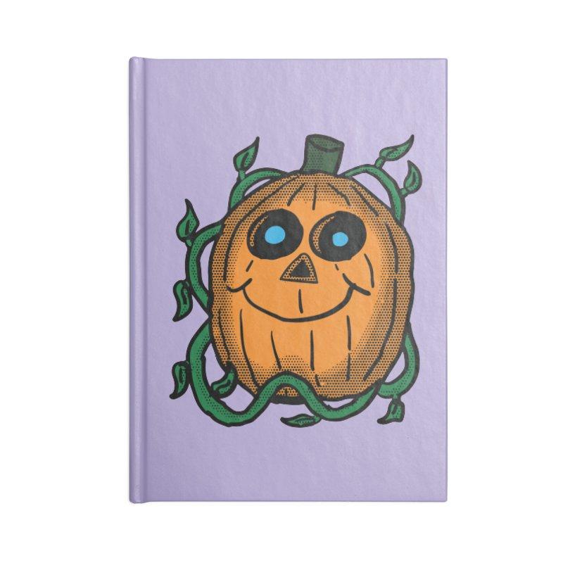Fall Pumpkin Accessories Notebook by ericallen's Artist Shop