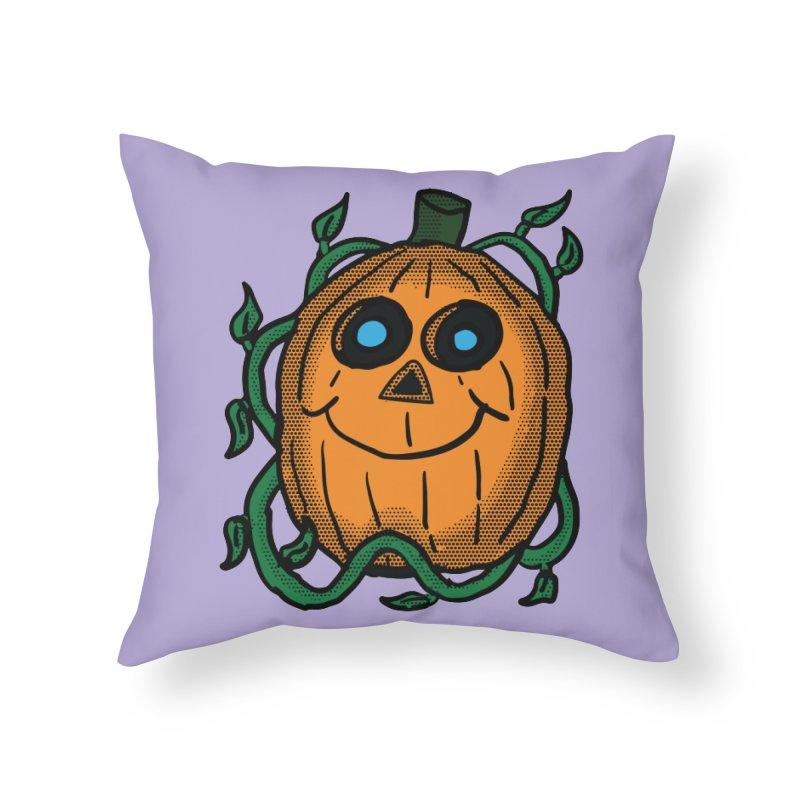 Fall Pumpkin Home Throw Pillow by ericallen's Artist Shop