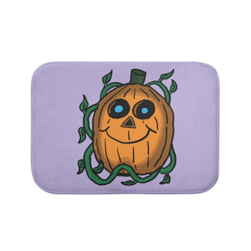 Fall Pumpkin Home Bath Mat by ericallen's Artist Shop