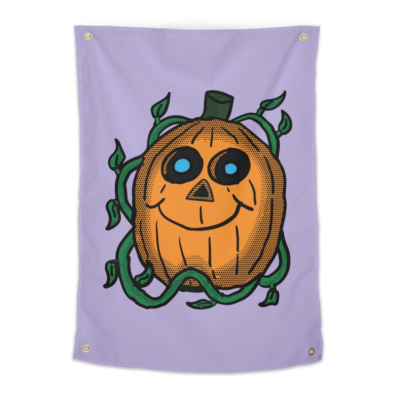 Fall Pumpkin Home Tapestry by ericallen's Artist Shop