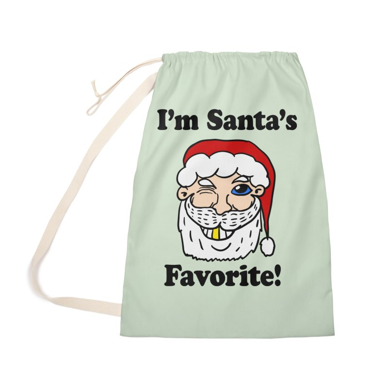 I'm Santa's Favorite Accessories Bag by ericallen's Artist Shop