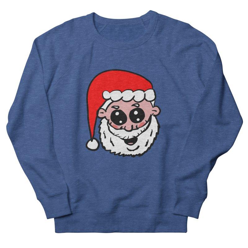 Cute Santa Head Women's French Terry Sweatshirt by ericallen's Artist Shop