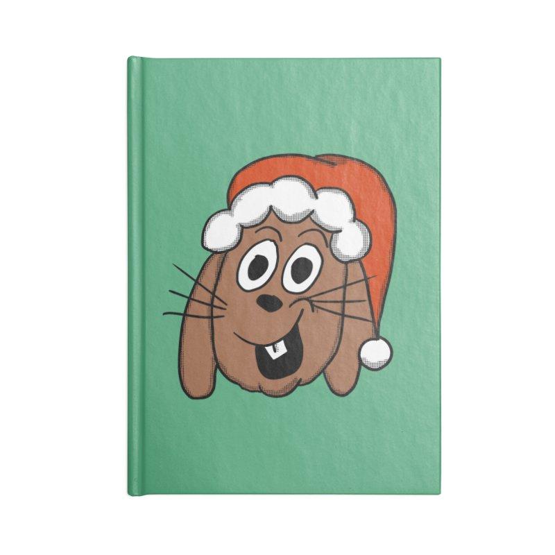 Santa Bunny Accessories Notebook by ericallen's Artist Shop