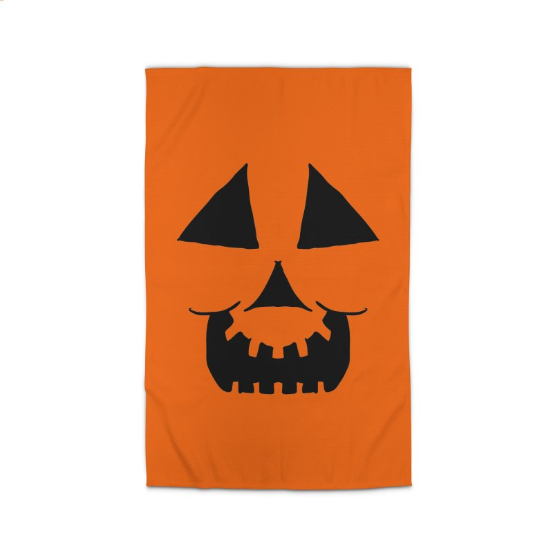 Cartoon Jackolantern face 1 Home Rug by ericallen's Artist Shop