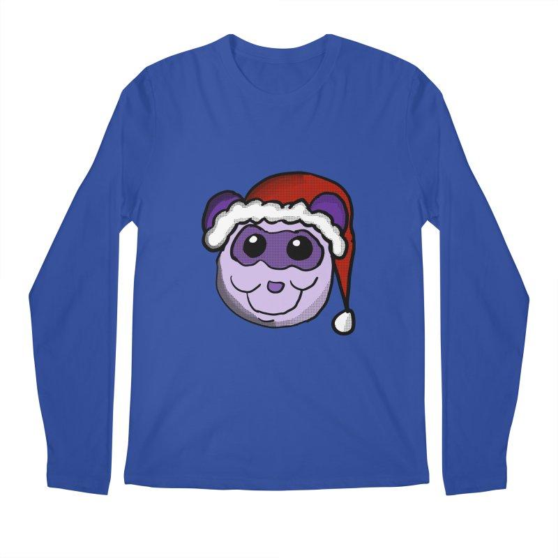 Christmas Panda Men's Regular Longsleeve T-Shirt by ericallen's Artist Shop