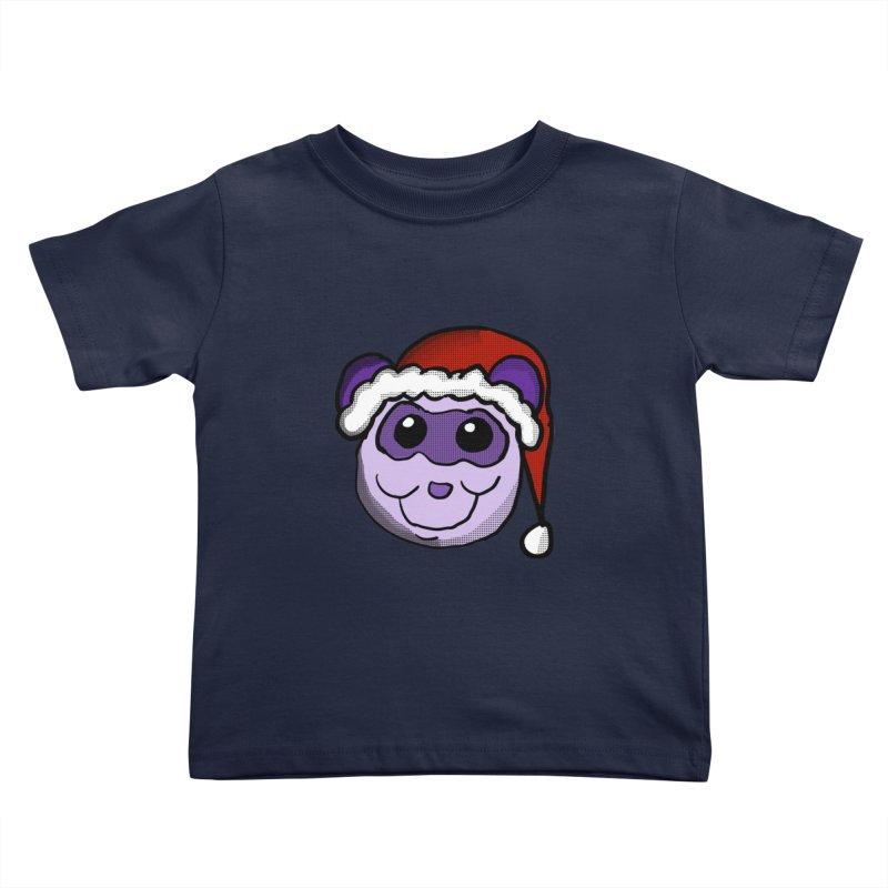 Christmas Panda Kids Toddler T-Shirt by ericallen's Artist Shop