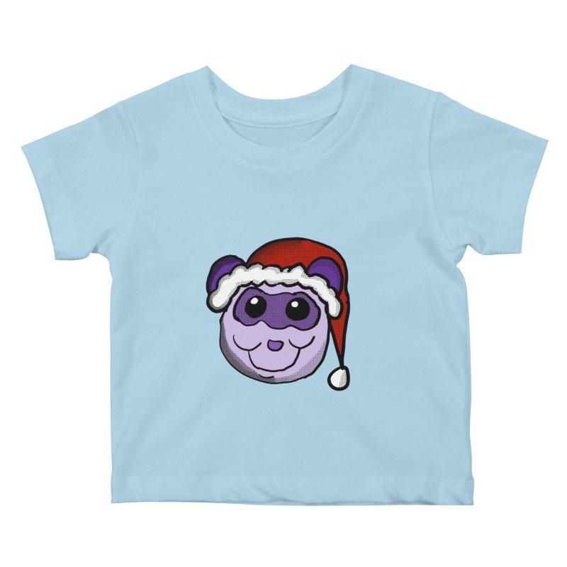 Christmas Panda Kids Baby T-Shirt by ericallen's Artist Shop