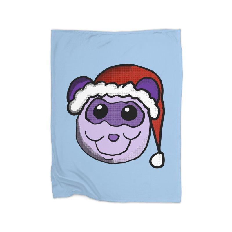 Christmas Panda Home Blanket by ericallen's Artist Shop