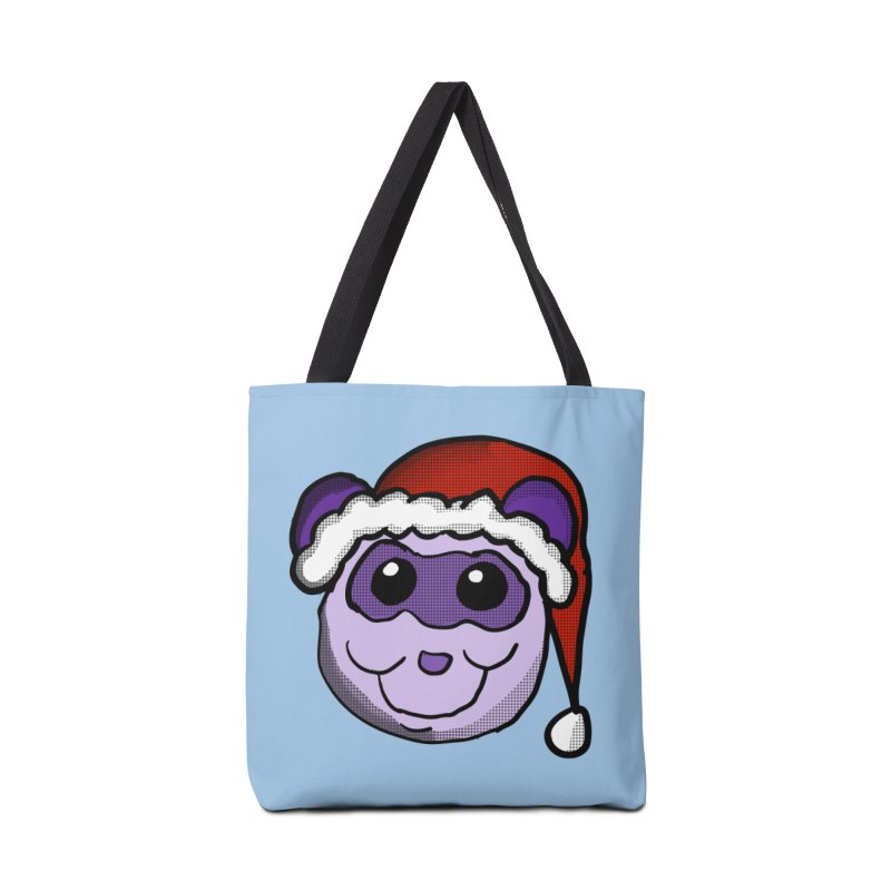 Christmas Panda Accessories Bag by ericallen's Artist Shop