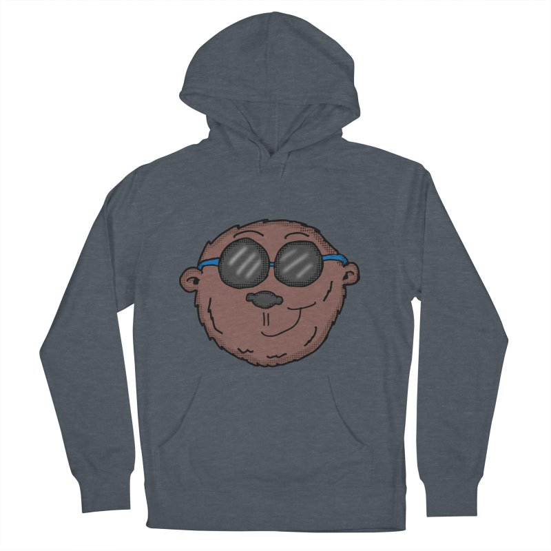 Sunglasses Monkey Men's French Terry Pullover Hoody by ericallen's Artist Shop