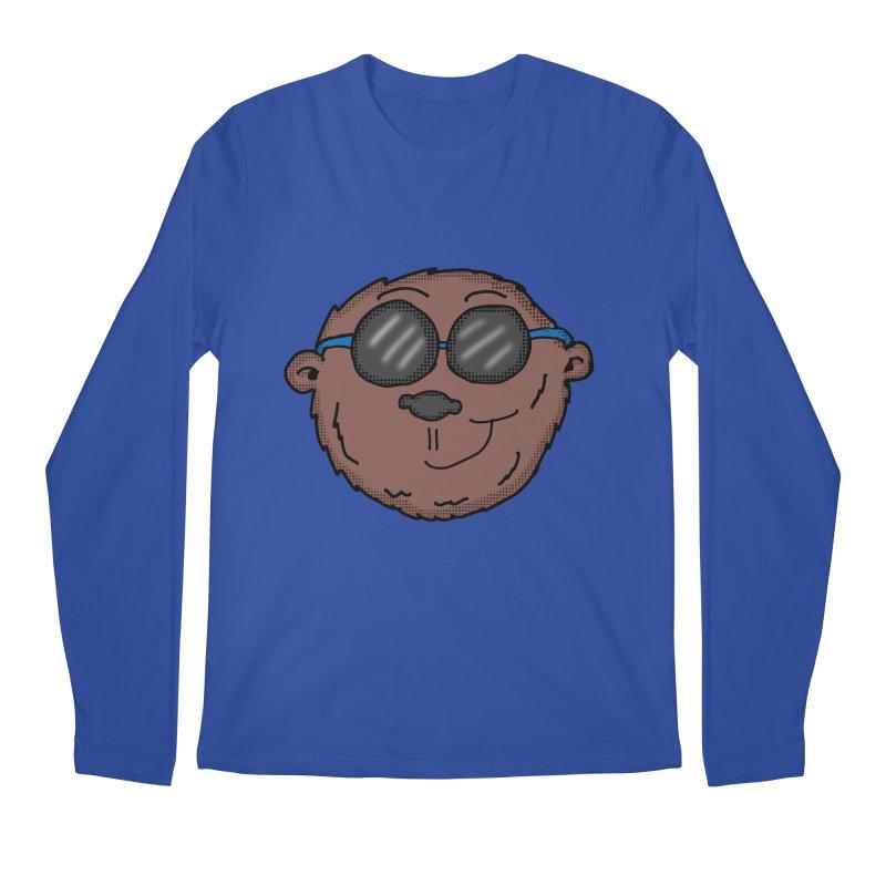 Sunglasses Monkey Men's Regular Longsleeve T-Shirt by ericallen's Artist Shop