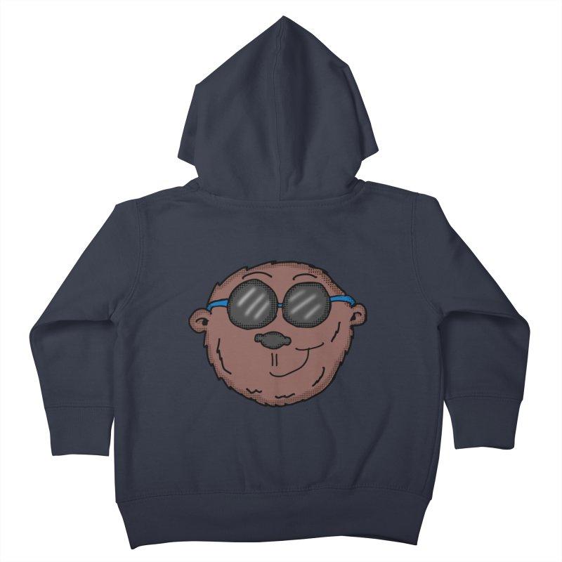 Sunglasses Monkey Kids Toddler Zip-Up Hoody by ericallen's Artist Shop