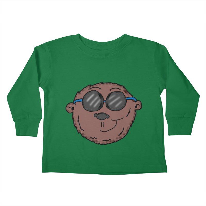 Sunglasses Monkey Kids Toddler Longsleeve T-Shirt by ericallen's Artist Shop