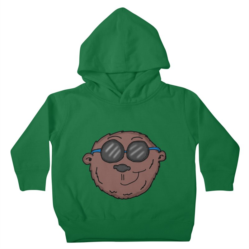 Sunglasses Monkey Kids Toddler Pullover Hoody by ericallen's Artist Shop
