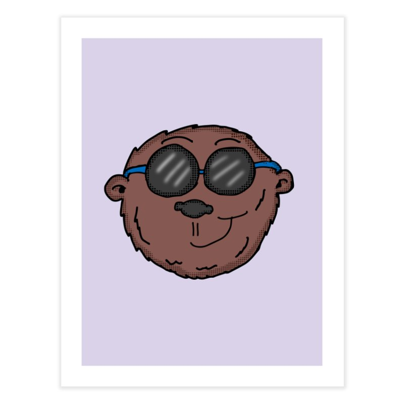 Sunglasses Monkey Home Fine Art Print by ericallen's Artist Shop
