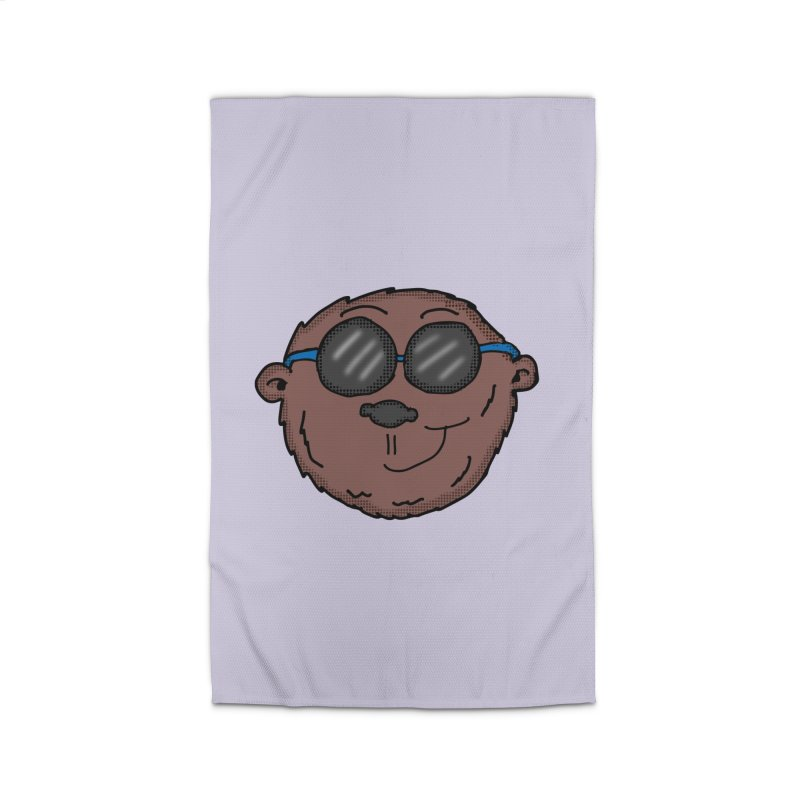 Sunglasses Monkey Home Rug by ericallen's Artist Shop