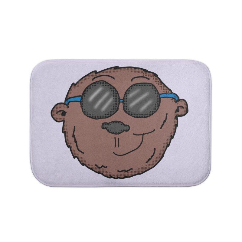 Sunglasses Monkey Home Bath Mat by ericallen's Artist Shop