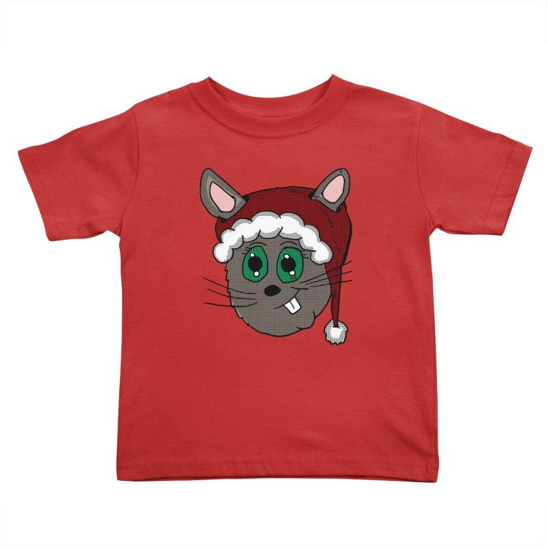 Christmas Bunny Kids Toddler T-Shirt by ericallen's Artist Shop