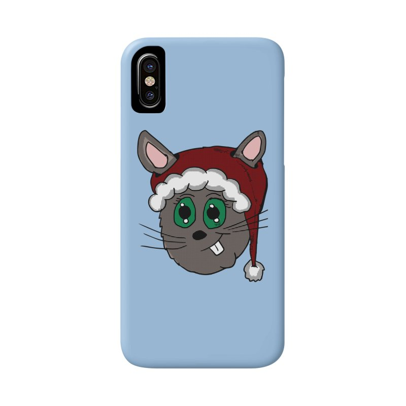 Christmas Bunny Accessories Phone Case by ericallen's Artist Shop