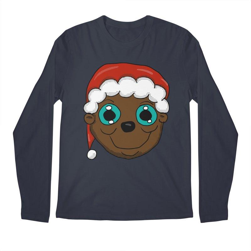 Christmas Monkey Men's Regular Longsleeve T-Shirt by ericallen's Artist Shop