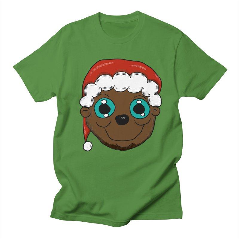 Christmas Monkey Women's Regular Unisex T-Shirt by ericallen's Artist Shop