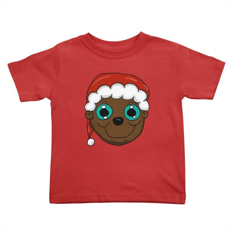 Christmas Monkey Kids Toddler T-Shirt by ericallen's Artist Shop