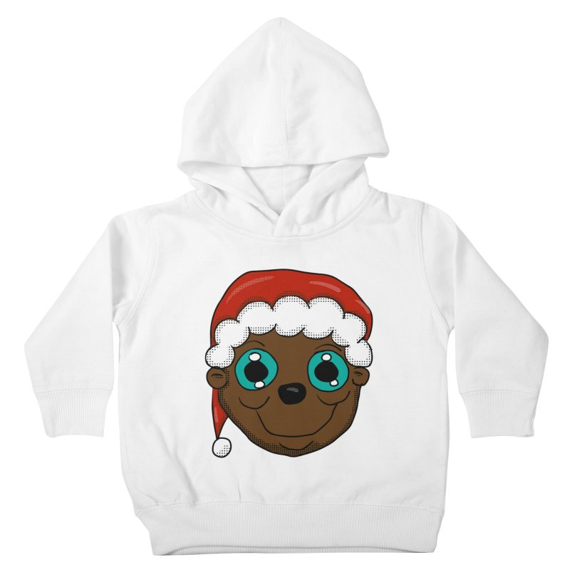 Christmas Monkey Kids Toddler Pullover Hoody by ericallen's Artist Shop
