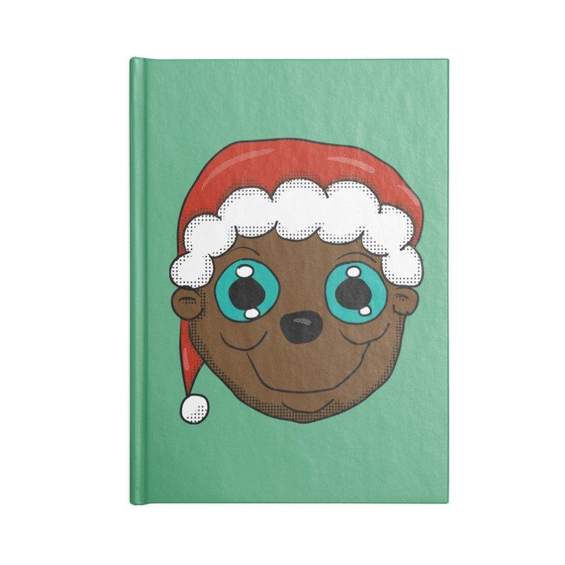 Christmas Monkey Accessories Notebook by ericallen's Artist Shop