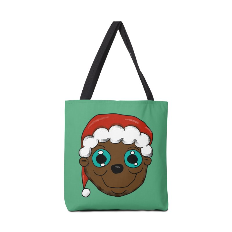 Christmas Monkey Accessories Bag by ericallen's Artist Shop