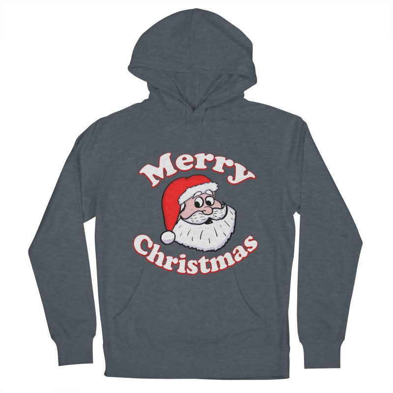 Merry Christmas Santa Women's French Terry Pullover Hoody by ericallen's Artist Shop