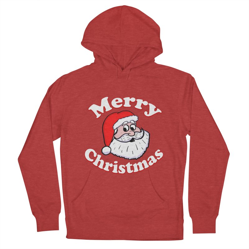 Merry Christmas Santa Men's French Terry Pullover Hoody by ericallen's Artist Shop