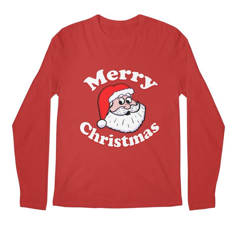 Merry Christmas Santa Men's Regular Longsleeve T-Shirt by ericallen's Artist Shop