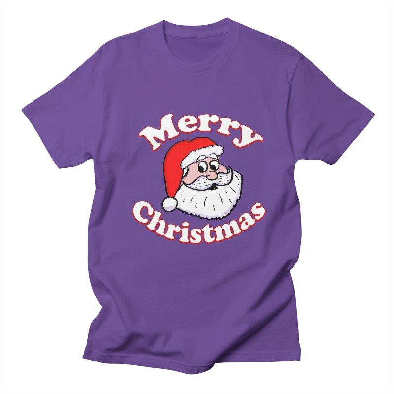 Merry Christmas Santa Women's Regular Unisex T-Shirt by ericallen's Artist Shop