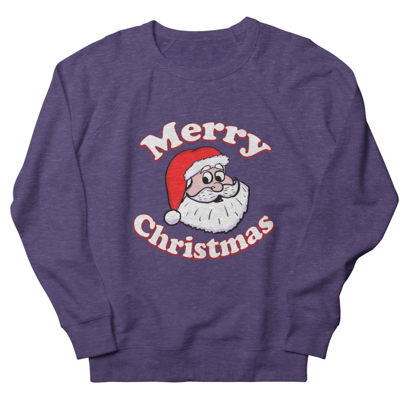 Merry Christmas Santa Women's French Terry Sweatshirt by ericallen's Artist Shop
