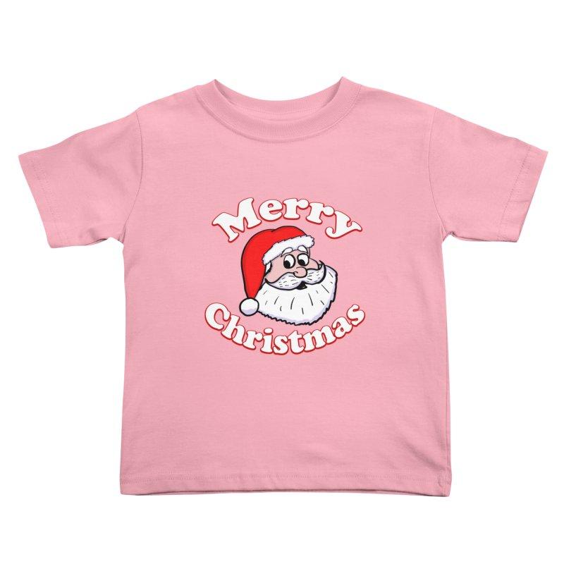 Merry Christmas Santa Kids Toddler T-Shirt by ericallen's Artist Shop