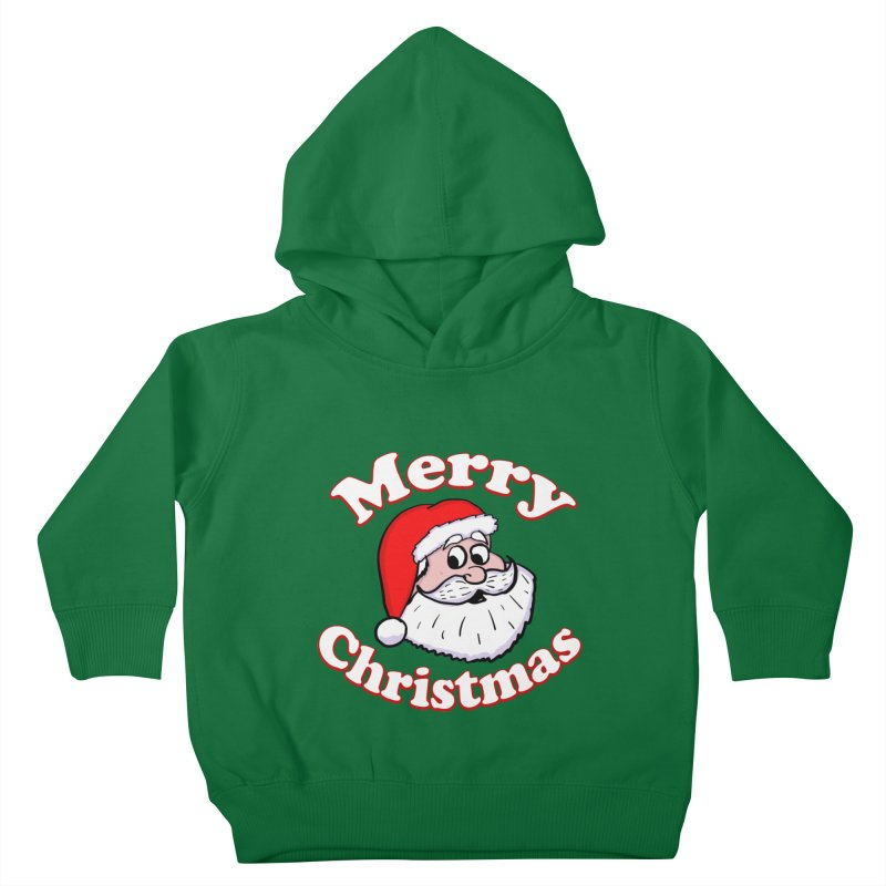 Merry Christmas Santa Kids Toddler Pullover Hoody by ericallen's Artist Shop