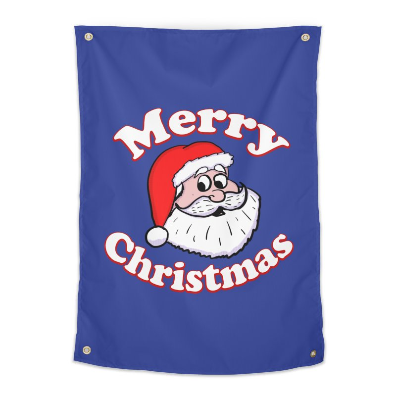 Merry Christmas Santa Home Tapestry by ericallen's Artist Shop