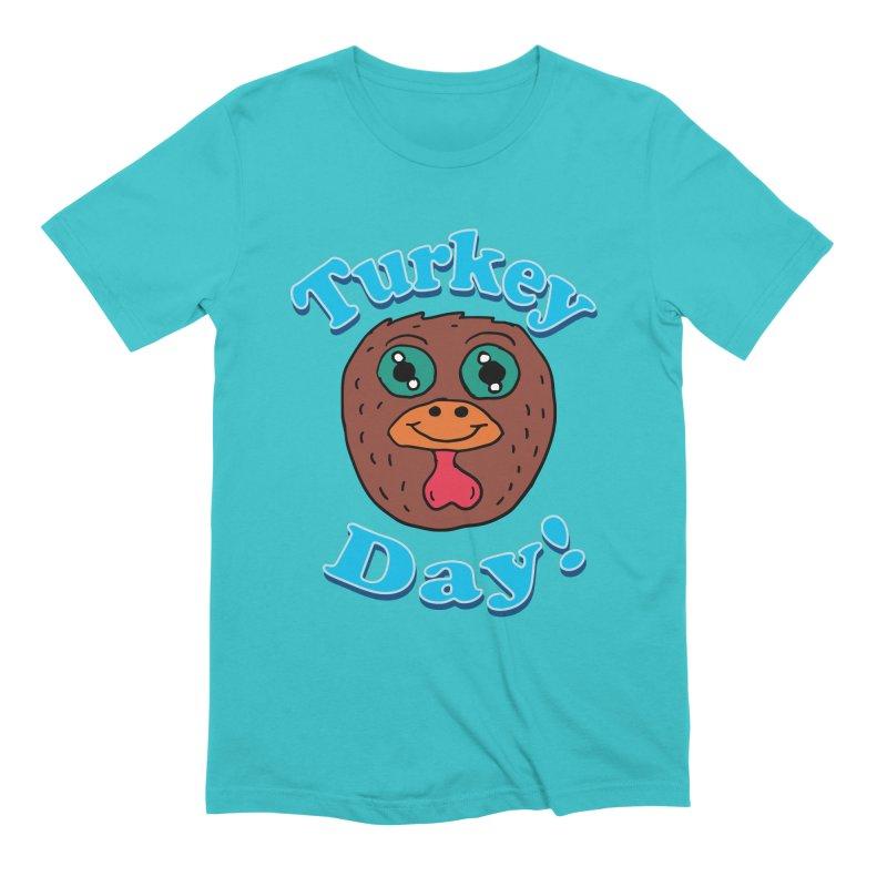 Turkey day Men's Extra Soft T-Shirt by ericallen's Artist Shop