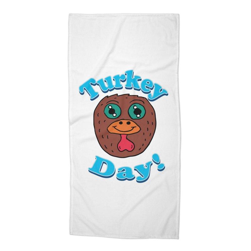 Turkey day Accessories Beach Towel by ericallen's Artist Shop